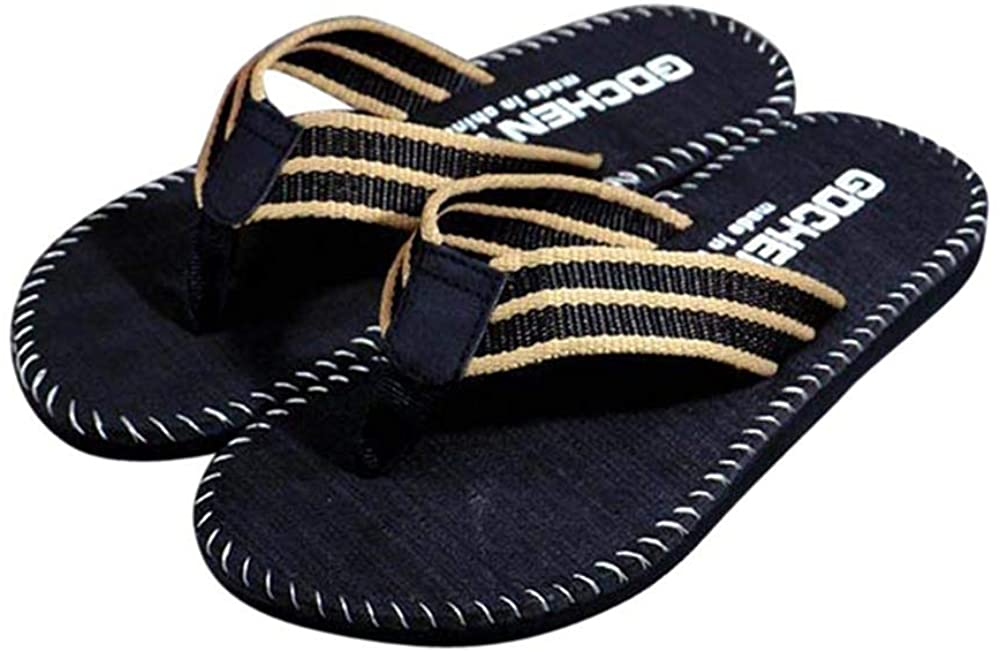 Zhangji Slippers Men Shoes Summer Flip Flops Shoes Beach Sandals Male Soft Slipper Flip-Flops