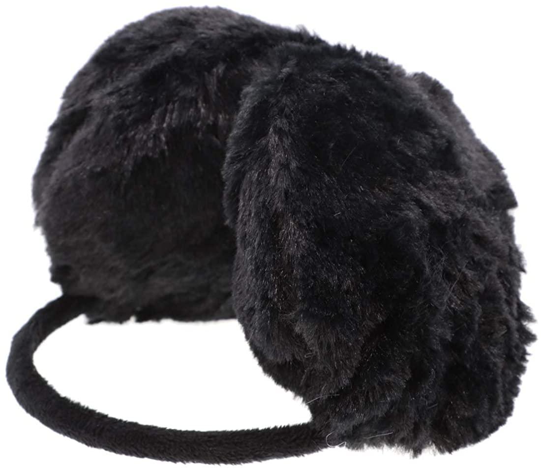 Furry Ear Warmers Women Kids colorful Faux-Fur Winter Earmuff