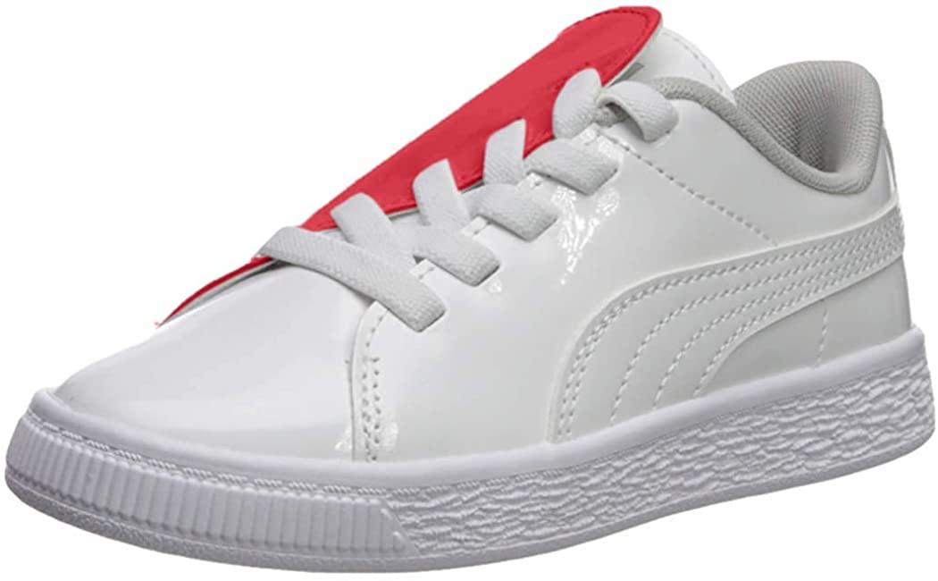 PUMA Kids' Basket Crush Slip on Sneaker