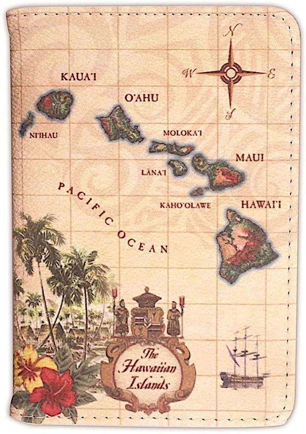 Passport Holder Islands of Hawaii