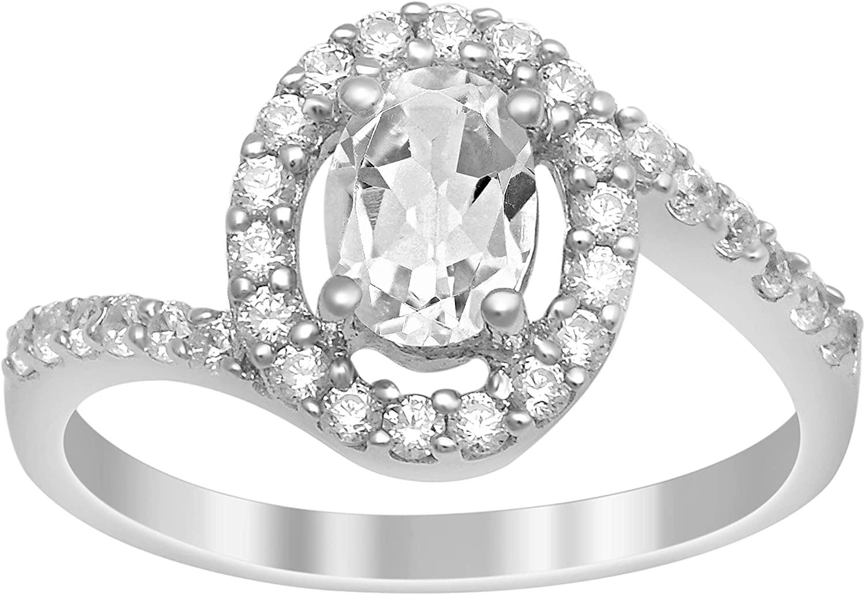 Shine Jewel Thin Halo 1.30 Ctw White Zirconia Gemstone 925 Sterling Silver Engagement Ring
