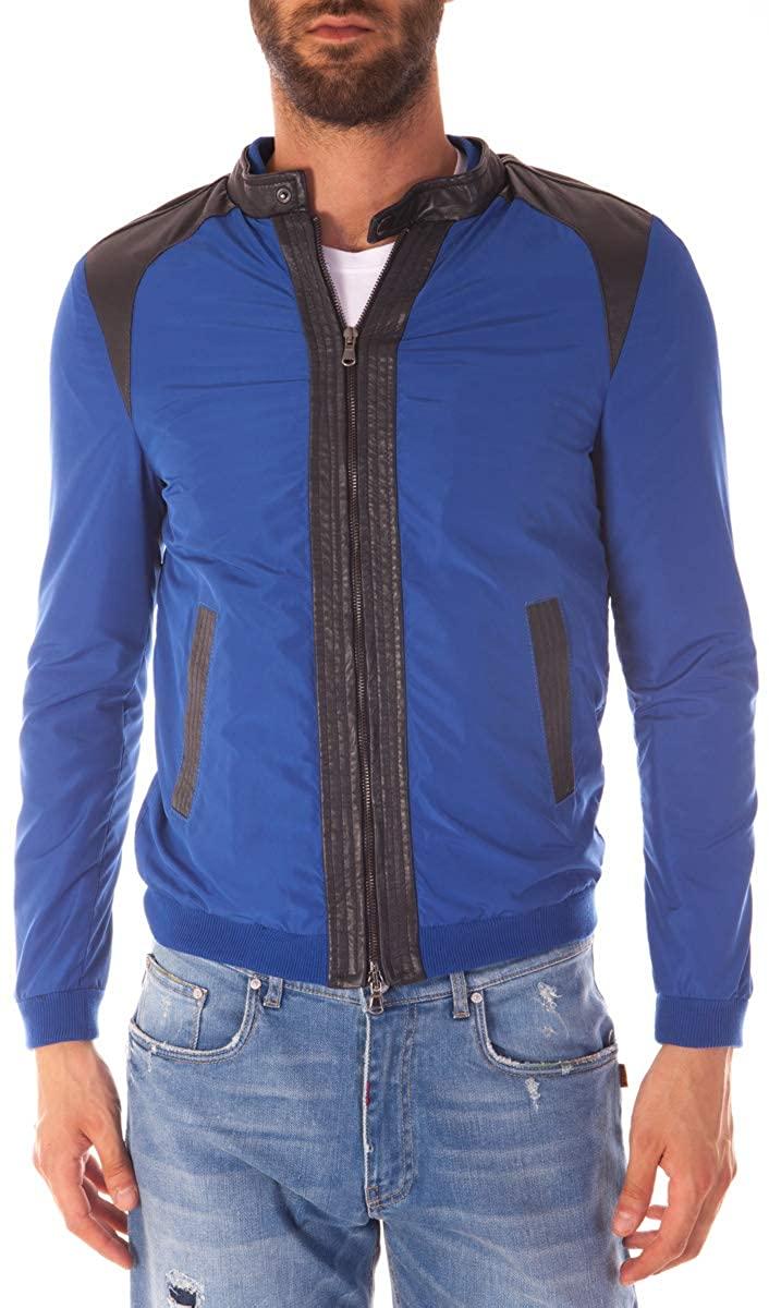 Daniele Alessandrini - Men'S Jacket I90883600 Blue Jacket Jade