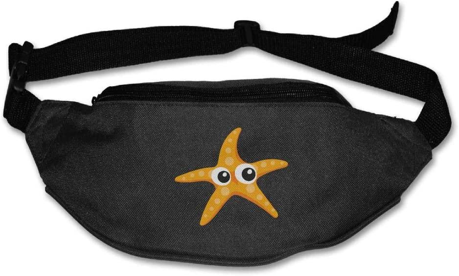 Eden Edies Lovelyh Starfish Unisex Waist Pack Bag Belt