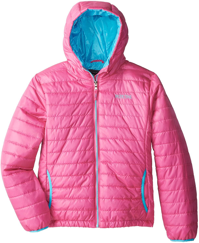 Pacific Trail Big Girls' Narrow Channel Puffer Coat