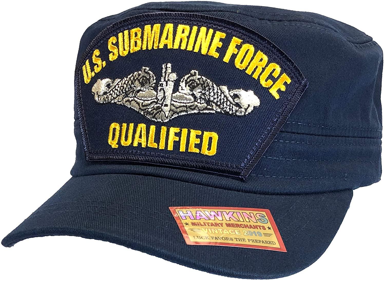 Hawkins Military Qualified - U.S. Navy Submarine Hat