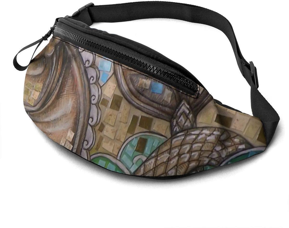 Tribal Sea Horse Fanny Pack Fashion Waist Bag