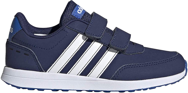 adidas Boys Shoes Running Fashion Trainers Sport School VS Switch 2 Kids (31.5 EU - UK 13k - US 13.5k)