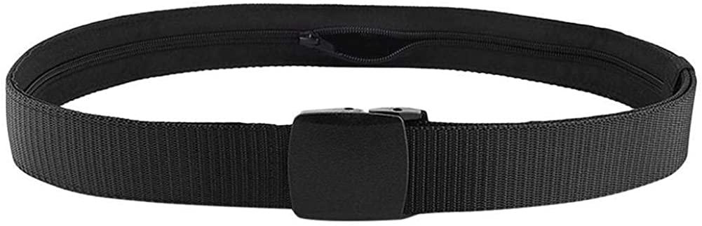 UOYOTT Anti-Theft Waterproof Casual Belt Black