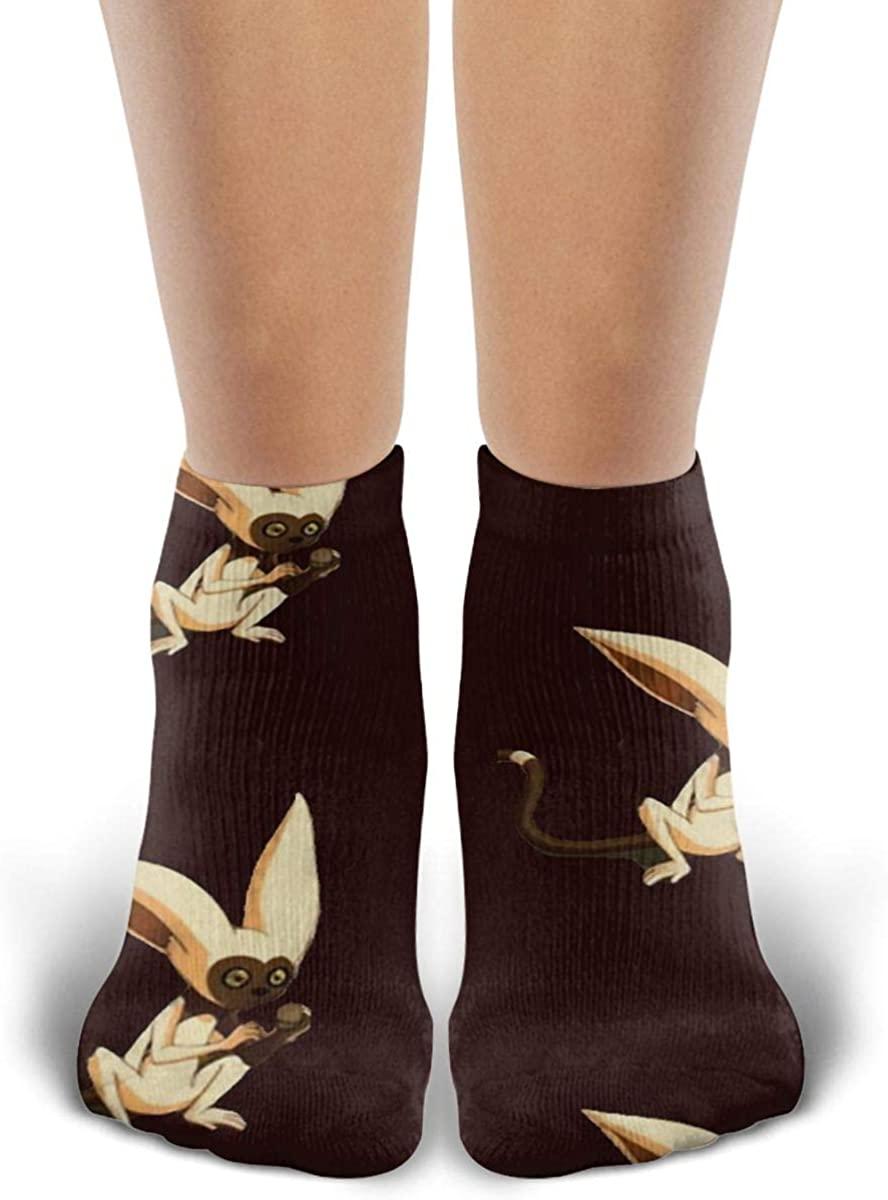 Unisex Avatar Winged Lemur Socks Novelty Ankle Socks Casual Funny Socks Sports Socks For Men Womens