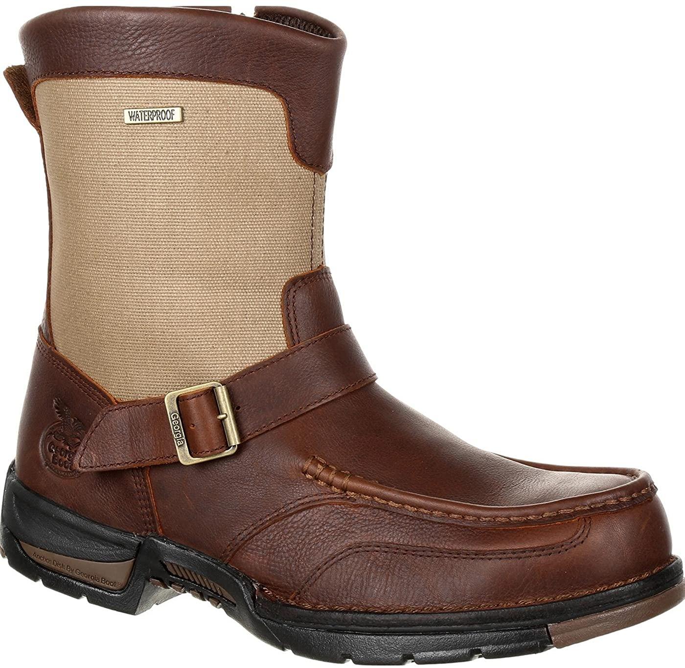 Georgia Boot Athens Waterproof Side-Zip Boot