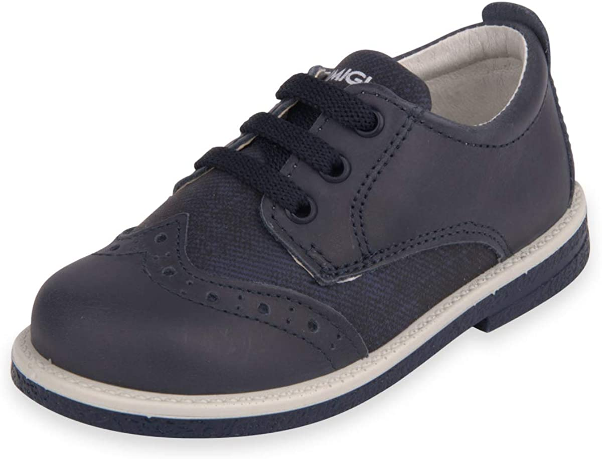 Primigi Dark Blue Leather and Denim Sneakers for Boys - PHI 33753. Summer and Spring. Imported from Italy. Shipped from US Warehouse. US Customer Support.