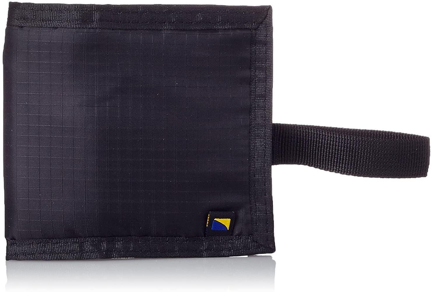 Travel Blue Anti-Theft Money Belt Loop Wallet Hidden Bi Fold, Black