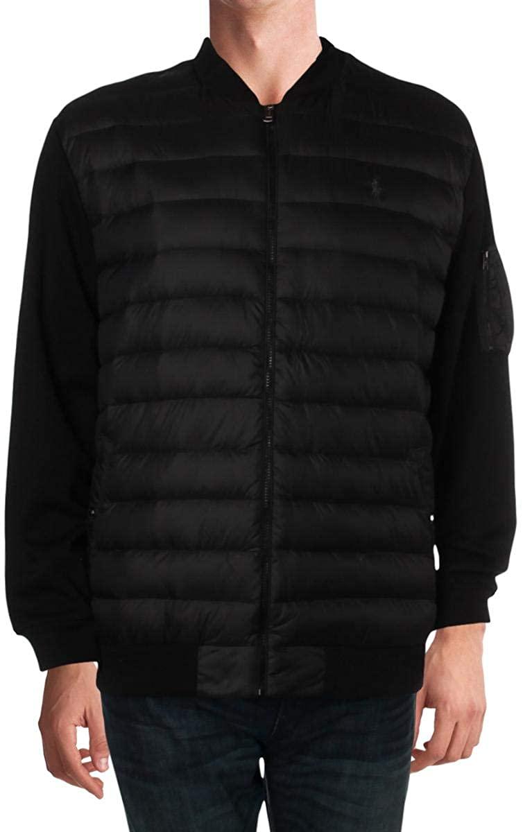 Polo Ralph Lauren Mens Big & Tall Mock Neck Long Sleeves Jacket
