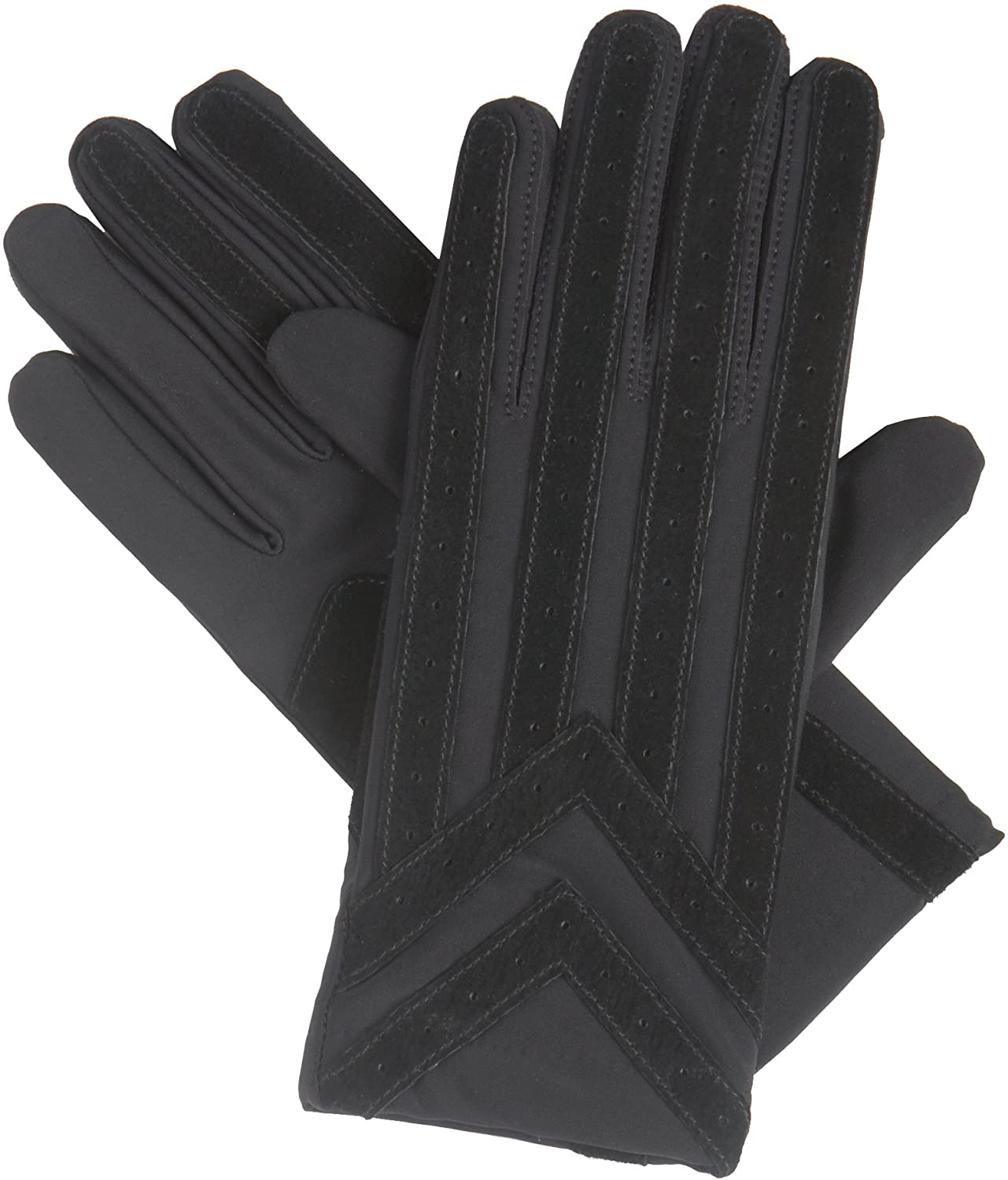 isotoner Signature Mens Gloves, Spandex Stretch with Warm Knit Lining