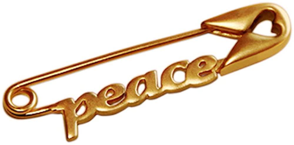 Inspired Pins Peace Pin