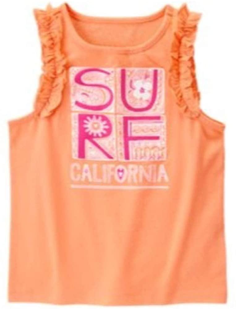 Gymboree Girls' Big Surf California Tank Top Orange
