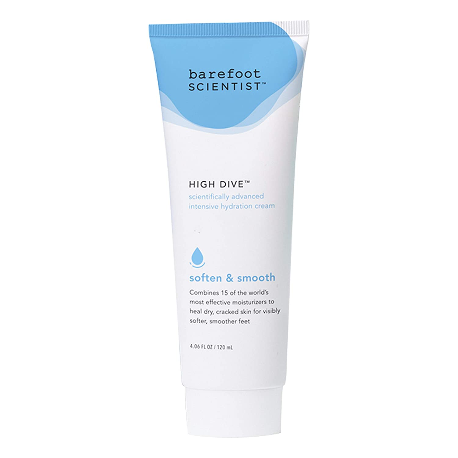 Barefoot Scientist High Dive Intensive Hydration Foot Therapy Cream, Specialized Moisture for Dry Feet and Cracked Heels