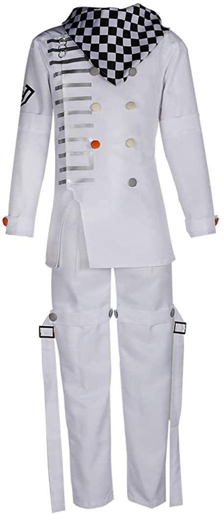HOLRAN Danganronpa V3 Killing Harmony Ouma Kokichi Cosplay Costume School Uniform Halloween Suit Outfit