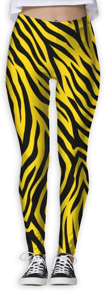 PIOL Womans Leopard Print High Waist Skinny Leggings Yoga Jogger Sweatpants