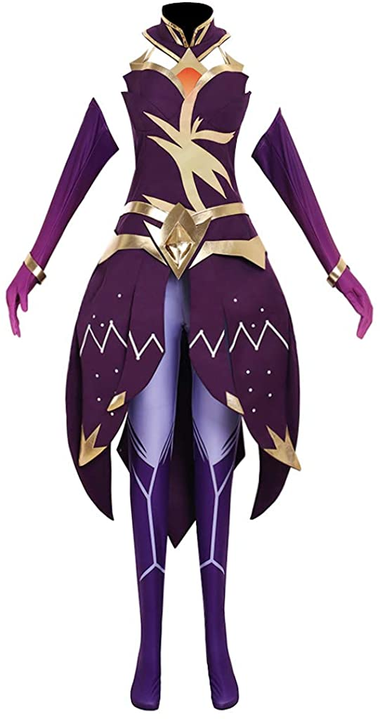 CosplayDiy Women's Suit for LOL Luxanna Crownguard The Lady of Luminosity Cosplay Costume Outfits