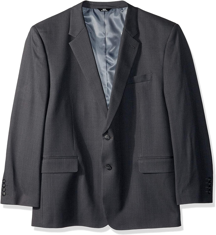 Haggar Mens Big & Tall B&t Stria Tic Stretch Classic Fit Suit Separate Coat