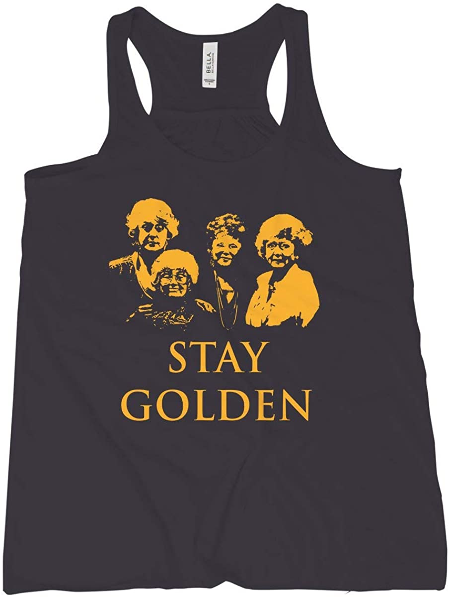 Stay Golden Tank Top Golden Girl Girls Tank Womens Stay Golden Tank