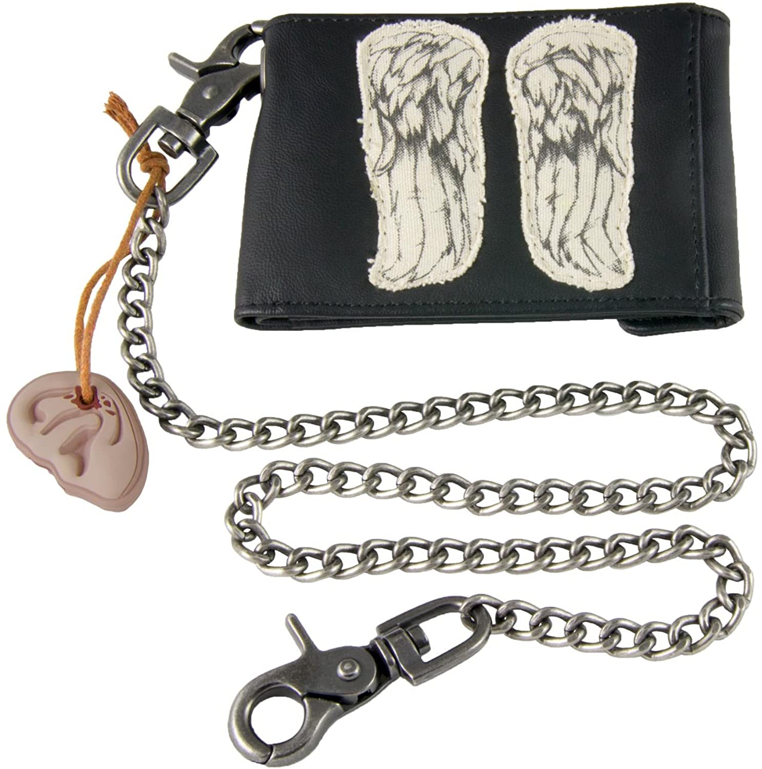 """Licensed AMC The Walking Dead Daryl Dixon Wings Wallet (3.25"""" H x 4.75"""" W x 0.5"""" D -closed)"""