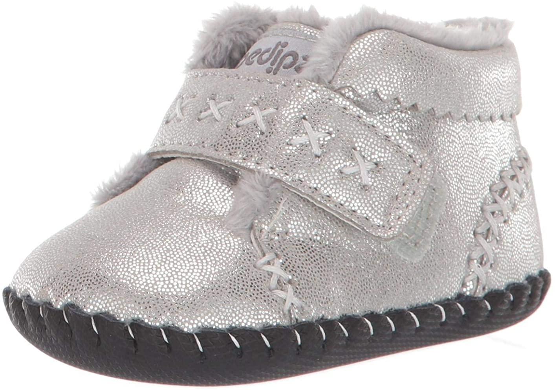 pediped Kids' Boot Crib Shoe