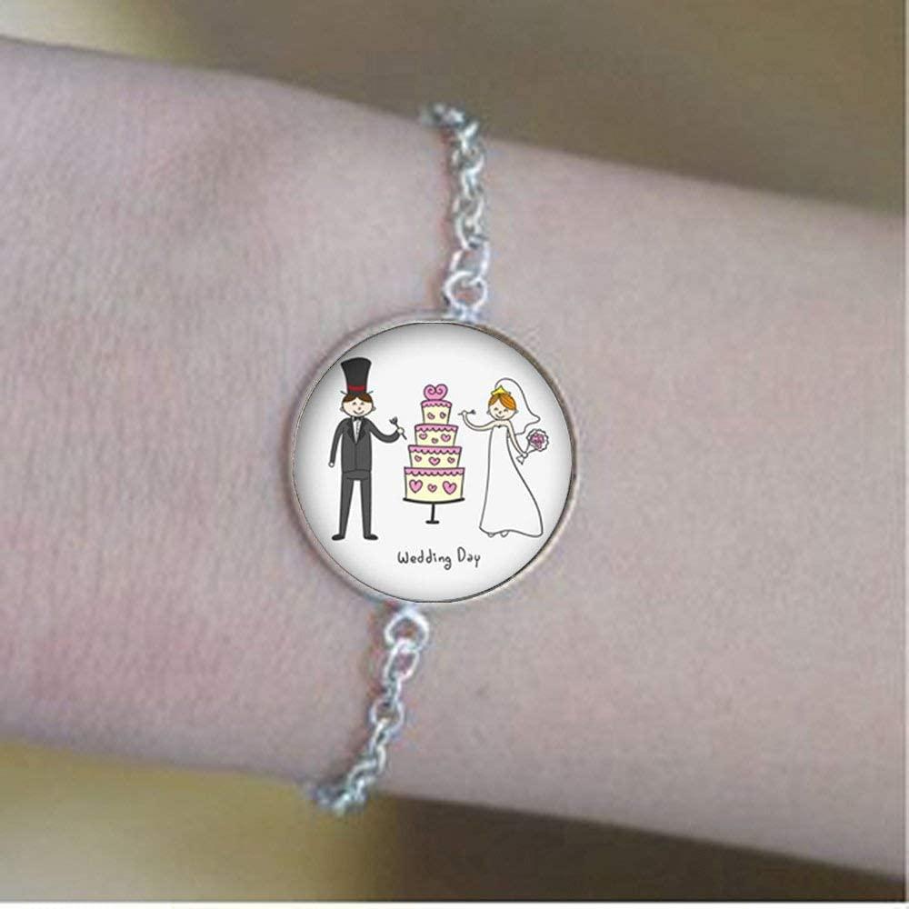 New Couple Romantic Love Testimony Bracelet Glass Photo Charm Birthday Festival Gift Beautiful Gift