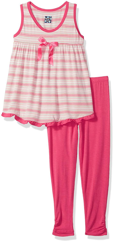 KicKee Pants Print Swing Tank Outfit Set Prd-kpsto207-gdest, Girl Desert Stripe, 4T