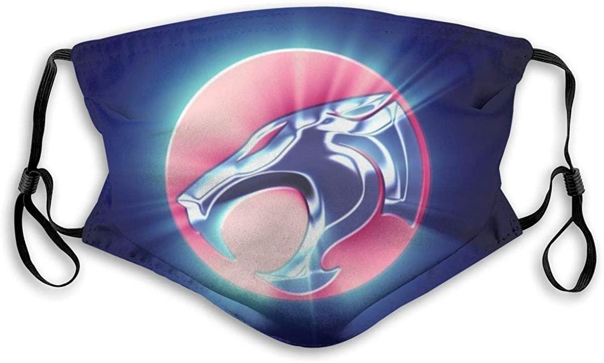 Thundercats Multifunctional Bandanas Face Mask Headband Scarf Headwrap Neckwarmer for Dust Sports Riding Outdoors