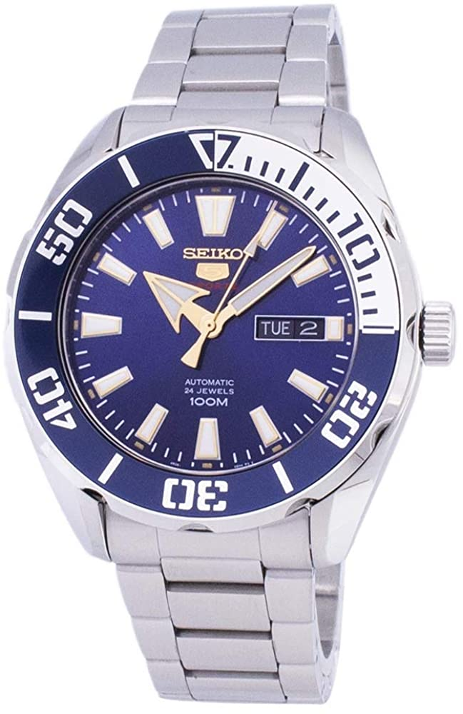 Seiko Mens Analogue Automatic Watch with Stainless Steel Strap SRPC51K1