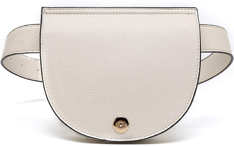 MKF Belt Bag for Women – Half Moon Fanny Pack – Fashion Outdoor Travel Sports – Mini Waist Cell Phone Pocket
