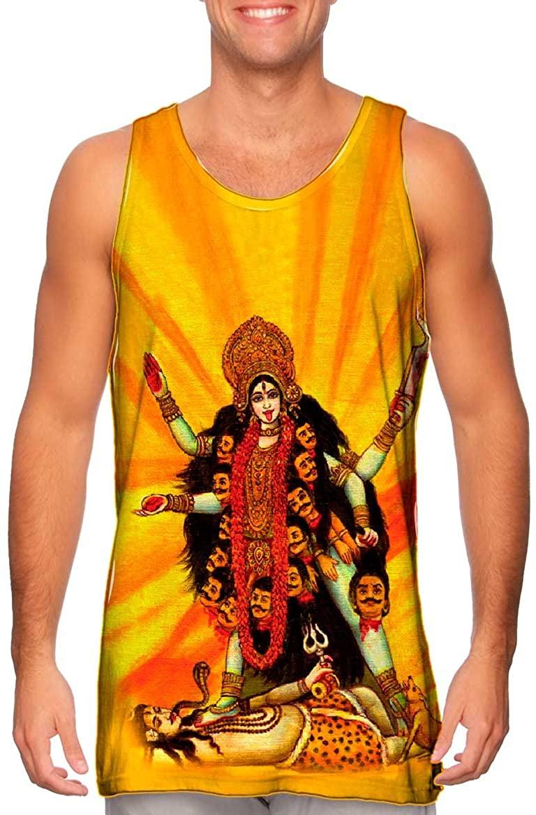Yizzam- India Hindu - Goddess Kali -Tshirt- Mens Tank Top