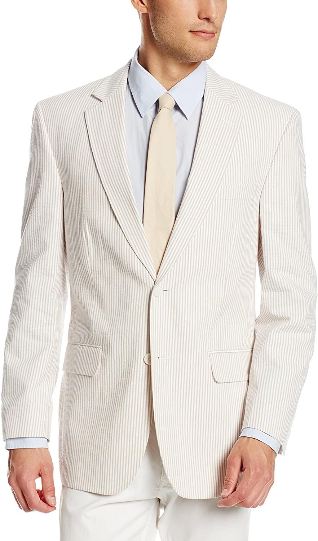 Palm Beach Men's Brock Seersucker Suit Separate Jacket