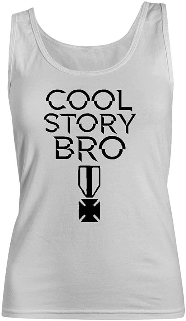 Krezy Case Funny Cool Story Tank Top -White