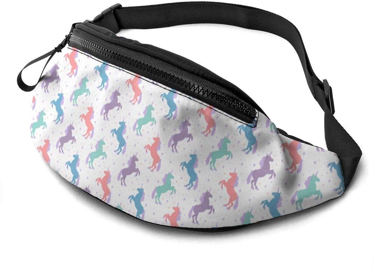 Unicorn Silhouette Fanny Pack Fashion Waist Bag