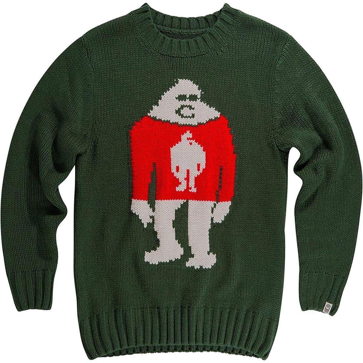 AIRBLASTER Unisex-Adult Sassy Sasquatch Big Foot Holiday Sweater