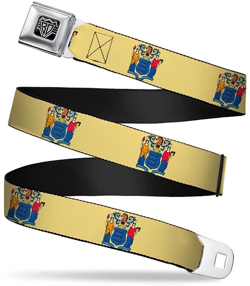 Buckle-Down Seatbelt Belt - New Jersey Flag - 1.5