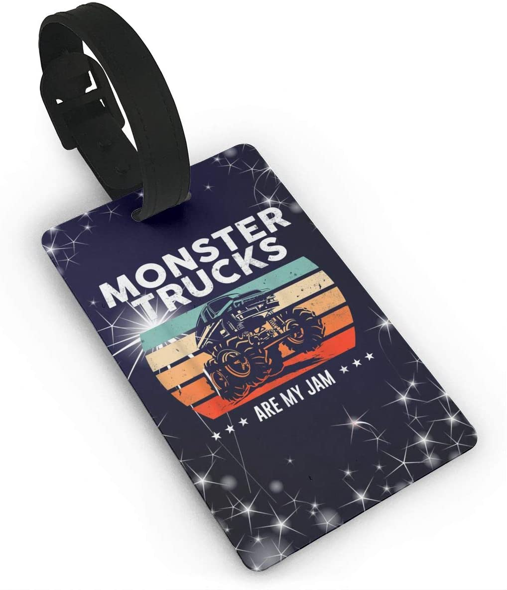 Gintamade Monster Trucks Travel Accessory Luggage Tag