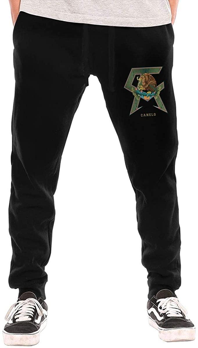Qq6-earn-store Canelo Alvarez Men's Workout Activewear Long Pants Sweatpants for Men