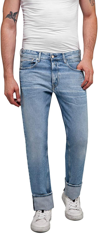 Replay Men's Original Open-End Denim Jeans Blue