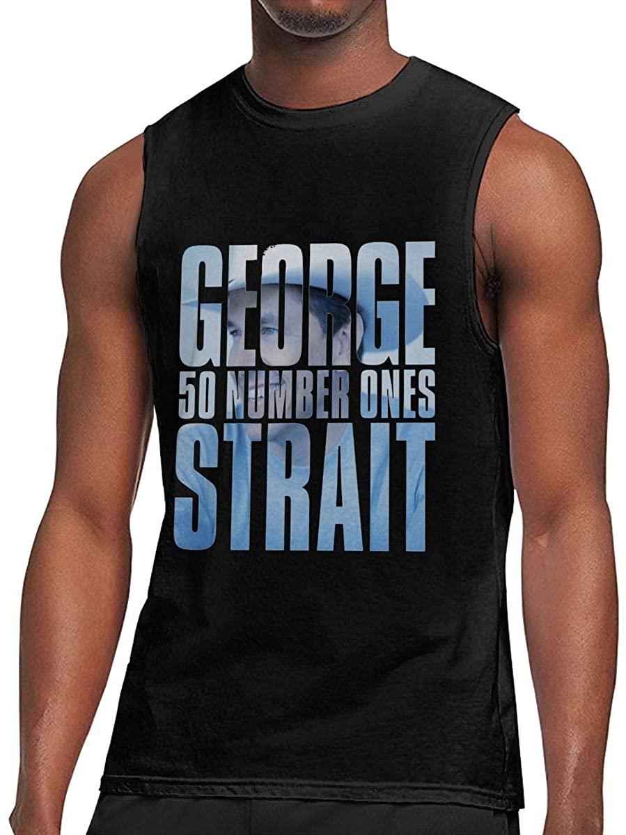 Jamesbaskett Men's Black Summer Round Neck Sleeveless T-Shirt,Halestorm Printing Fashion Cotton Sleeveless Vest for Running