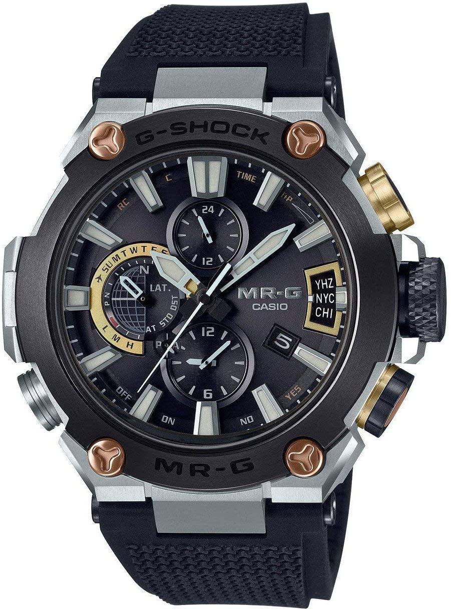 Casio G-Shock MR-G MRGG2000R-1A Titanium Tough Solar Bluetooth Watch