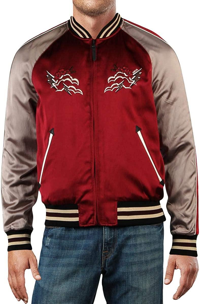 COACH Mens Western Souvenir Embroidered Jacket