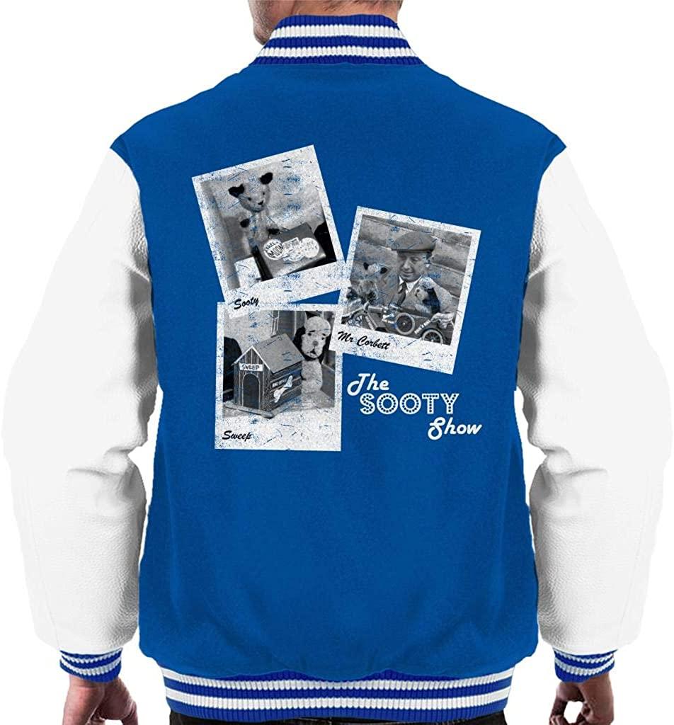 Sooty Retro 1950's Photo Montage Men's Varsity Jacket