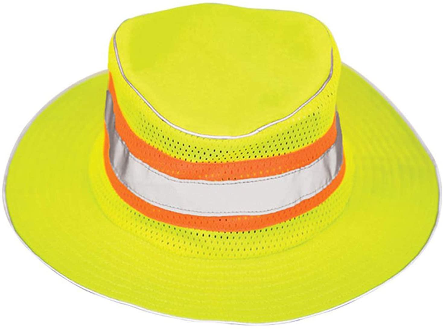 TOP HEADWEAR Reflective Full Brim Safari Hat