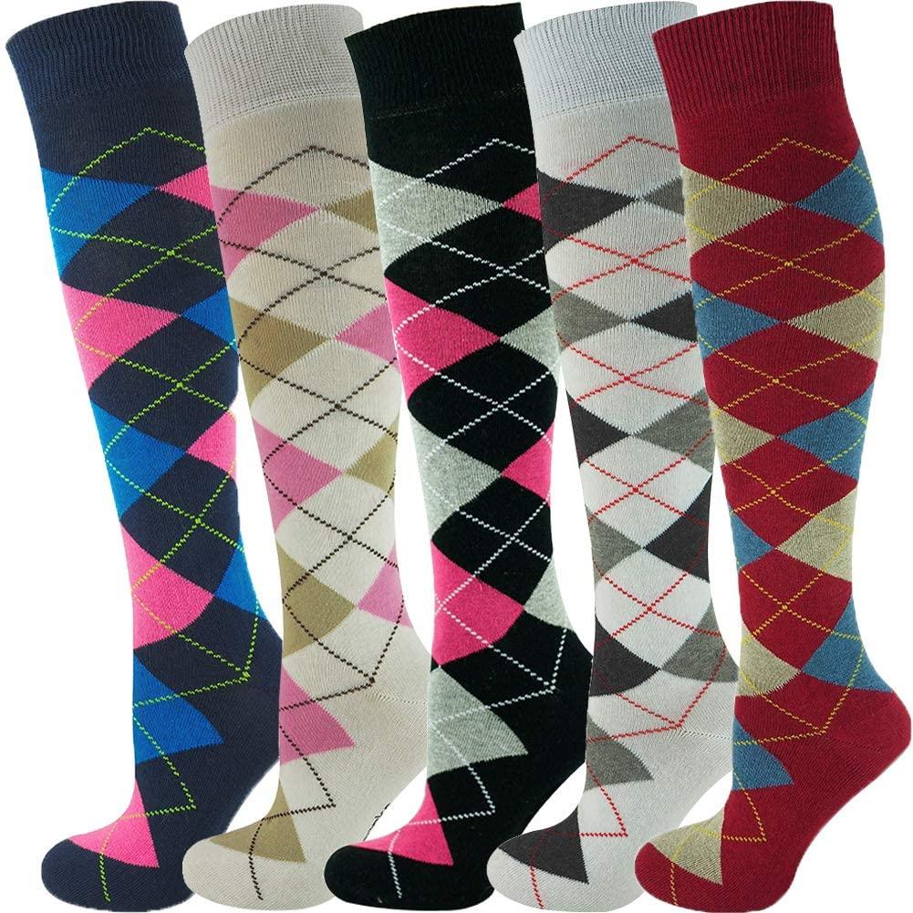 Mysocks Unisex Knee High Long Socks Multi Design