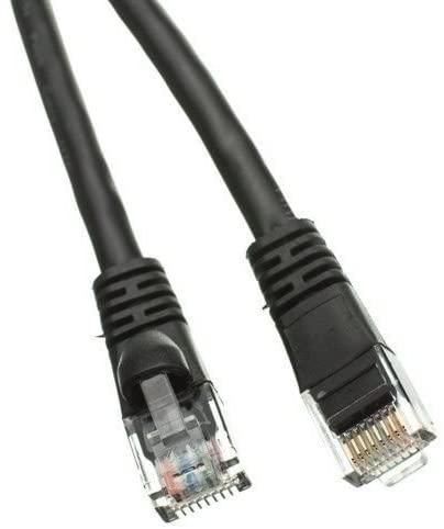 BattleBorn 20 Pack Lot 3ft Cat5e Cat5 Ethernet Network LAN Patch Cable Cord RJ45 - Black