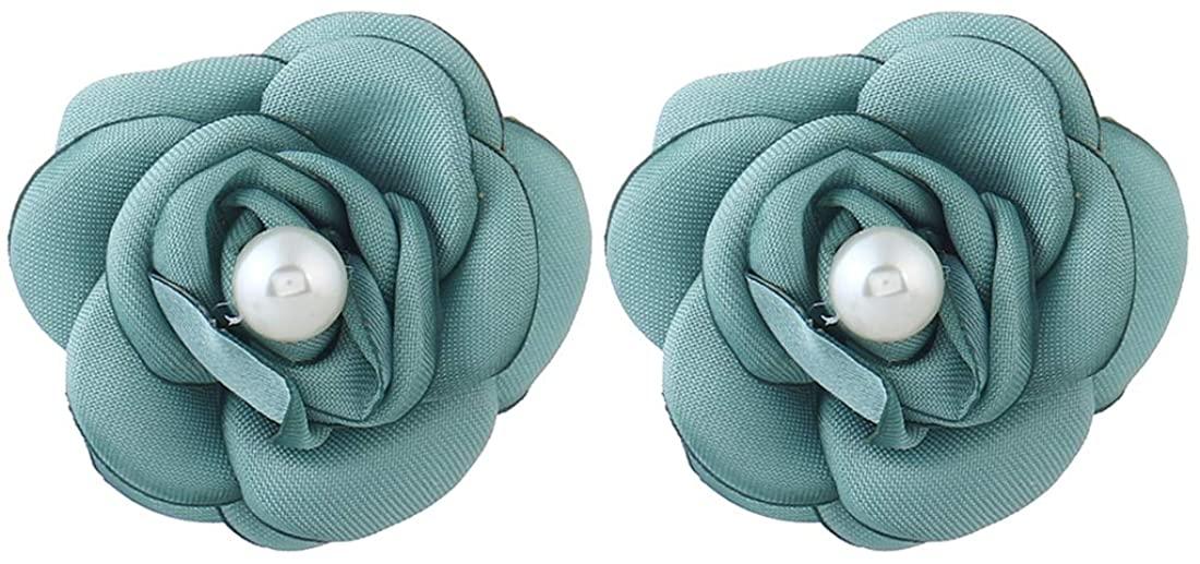 Women's Girl's Fashion Jewelry Dangle Earrings 1 Pair Fabric Drop Earrings Fashion For Women Girls Earring Flowers